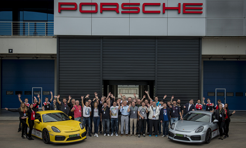 Porsche on Track driving experience v Istanbulu